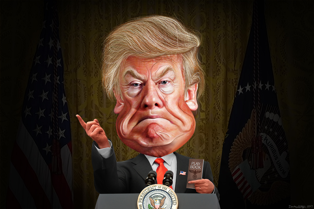 Donald Trump, press conference