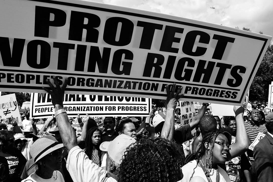 voting rights, march