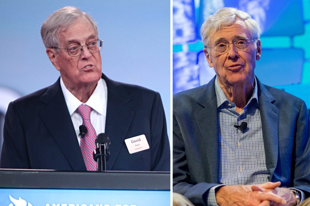 Donald j trump and the deep state part 1 for David und charles koch