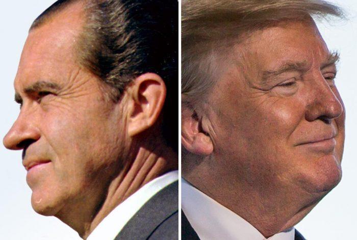 Richard Nixon, Donald Trump