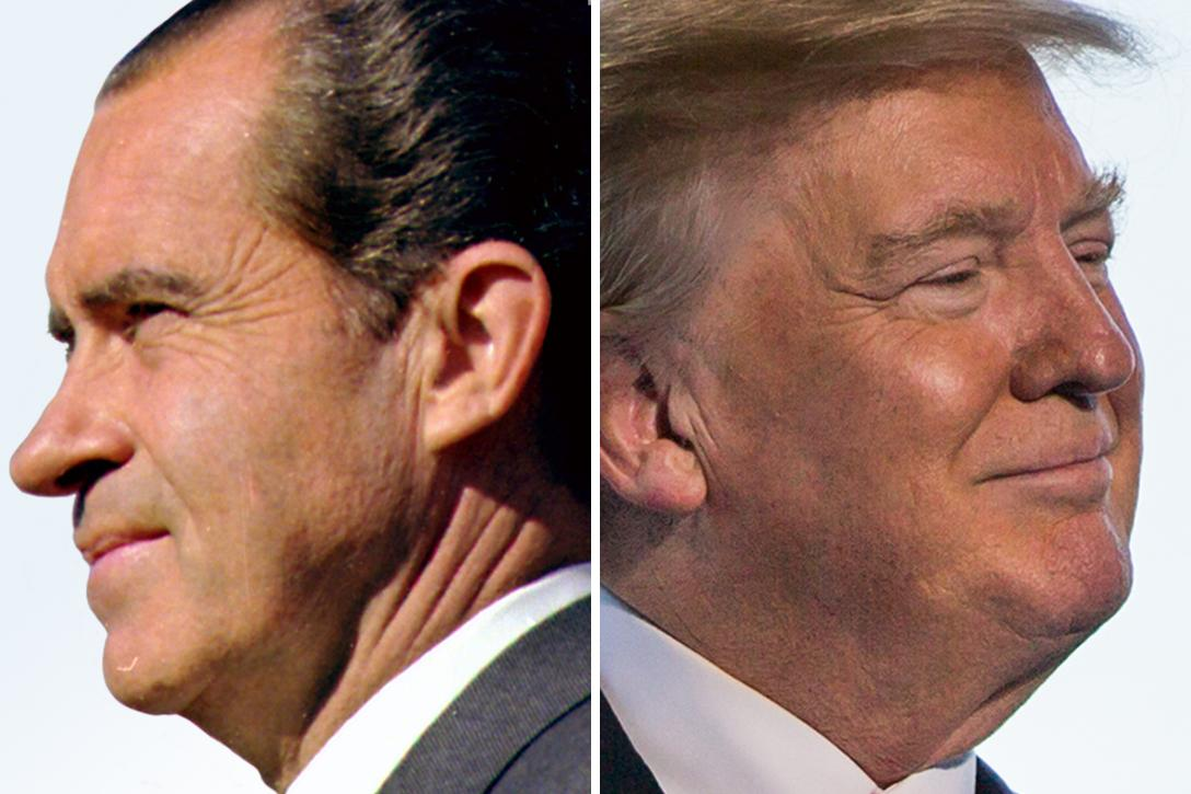 Richard Nixon, Donald Trump