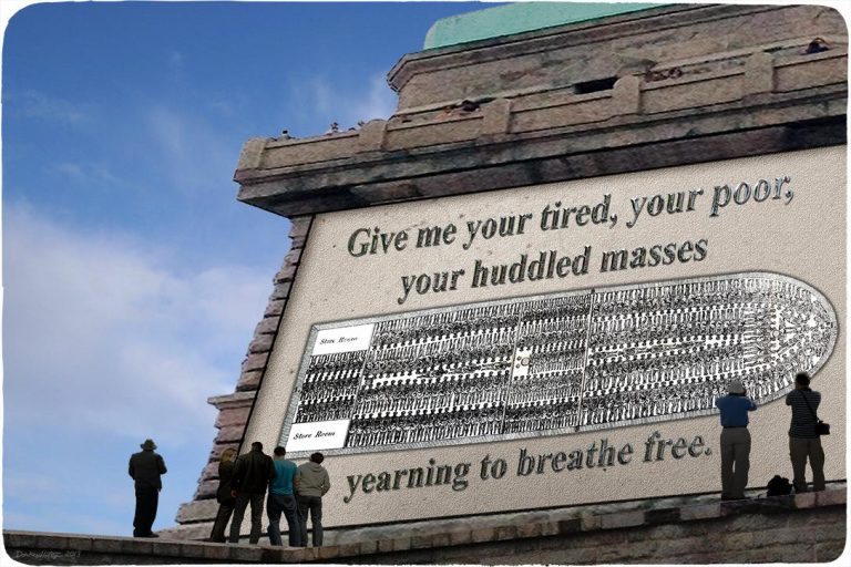slaves, immigrants