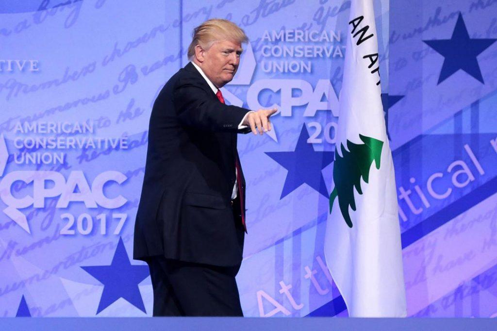 Donald Trump, CPAC, 2017