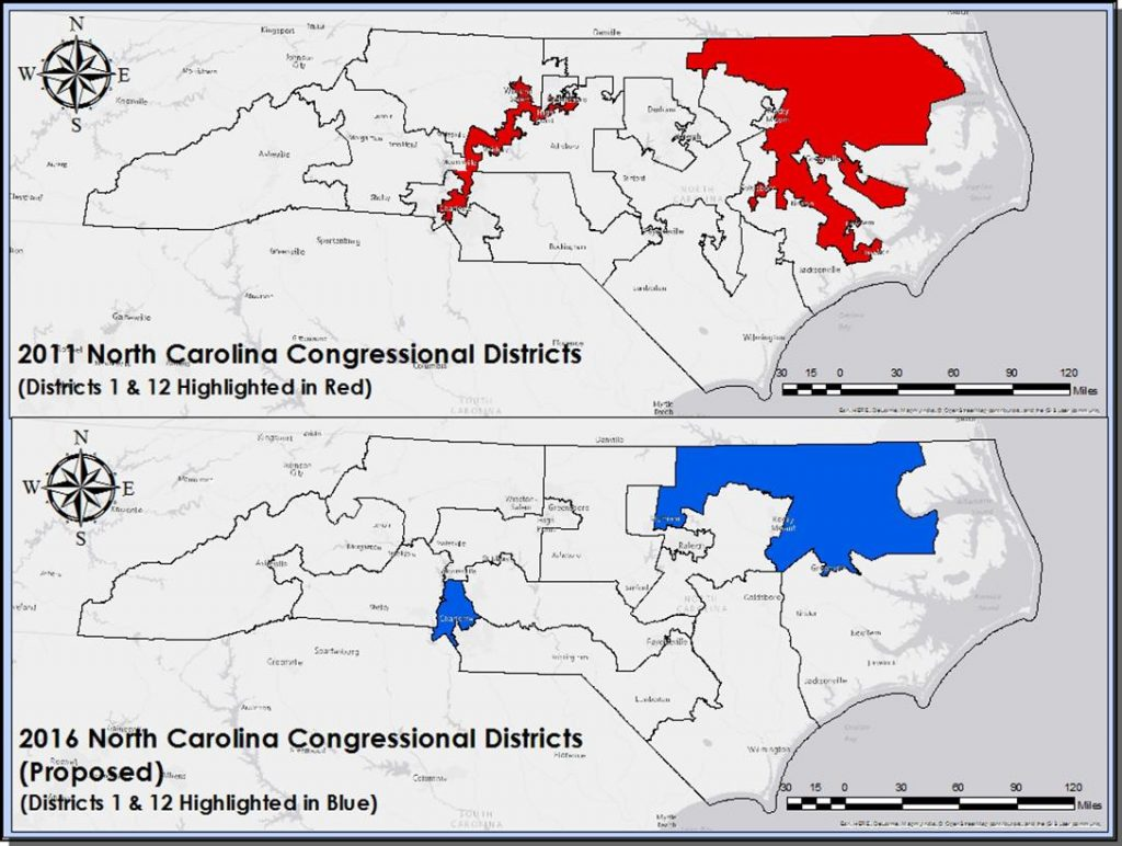 congressional district map