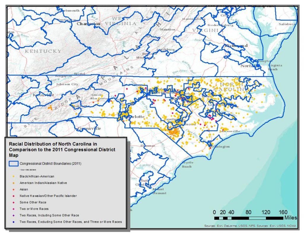 racial distribution map