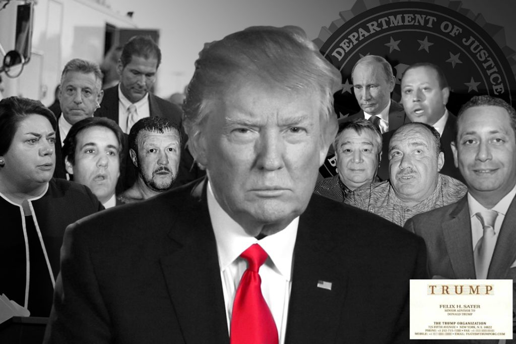 Donald Trump, Felix Sater, Semion Mogilevich, Vladimir Putin, FBI