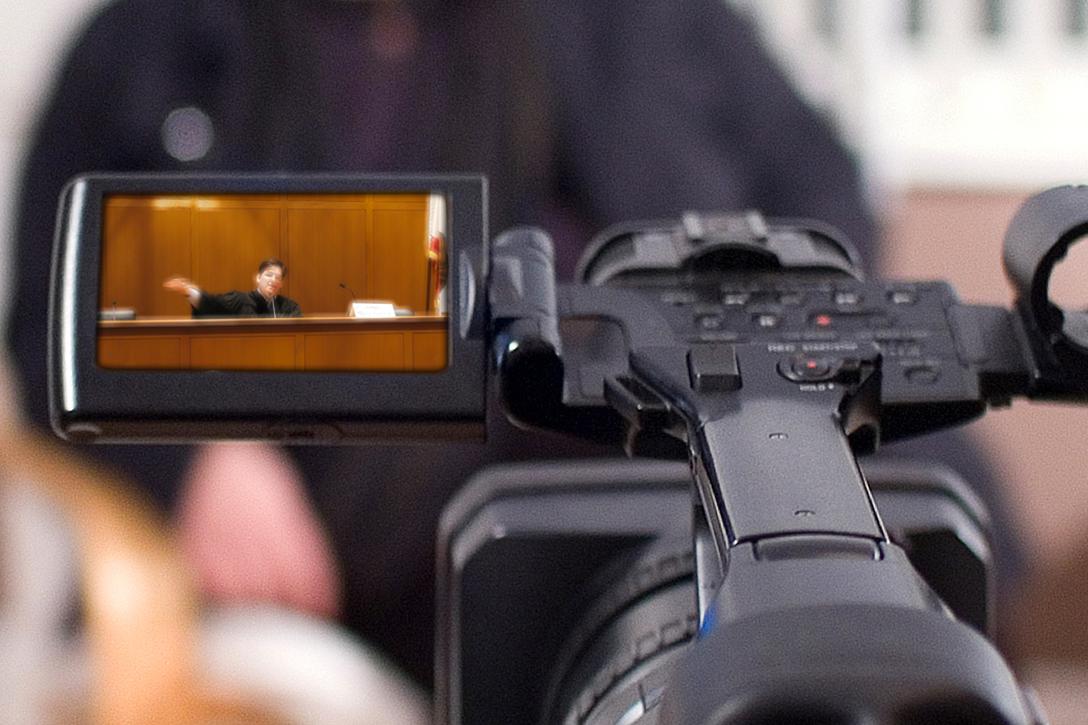 camera, court