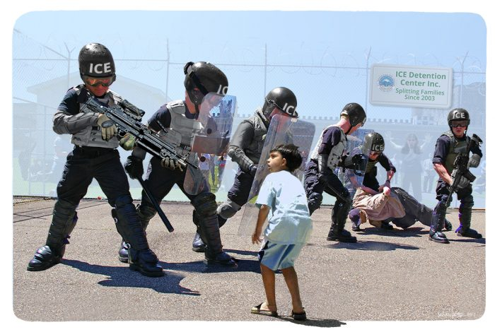 ICE, immigration, detention