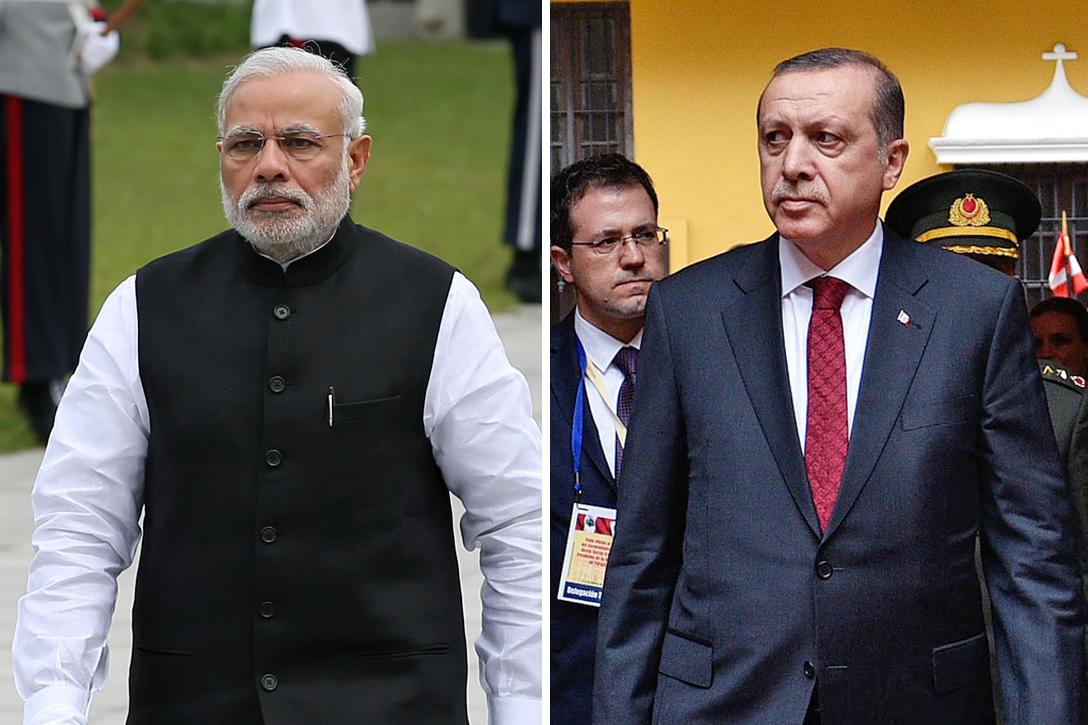 Narendra Modi, Tayyip Erdogan
