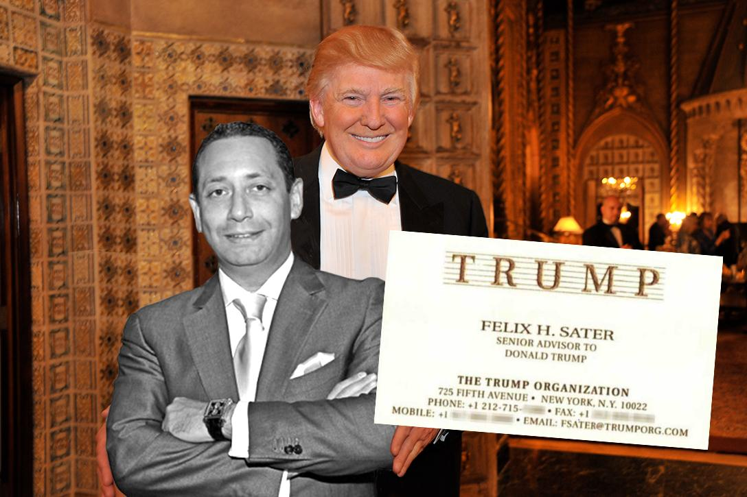 Felix Sater, Donald Trump, Mar a Lago