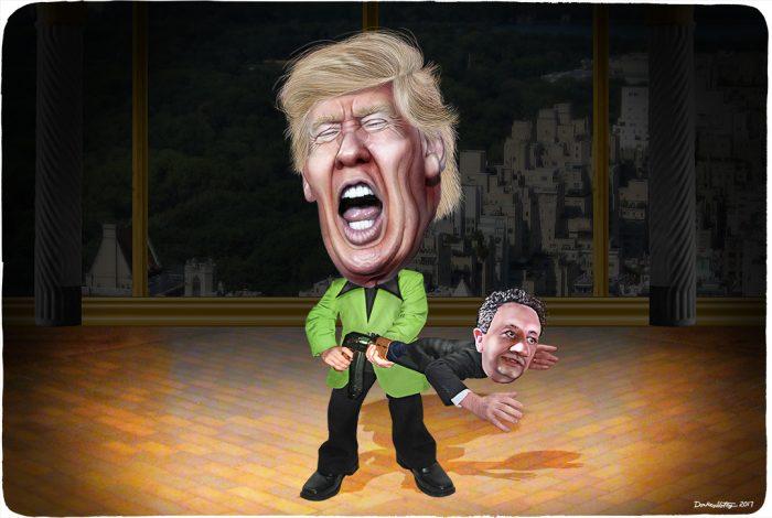 Donald Trump, Felix Sater, Trump Tower