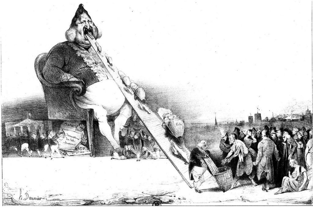 Honore Daumier, Gargantua