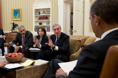 Robert Mueller Obama Briefing