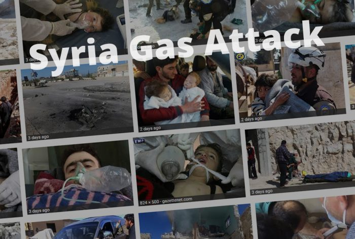 Syria, gas attack