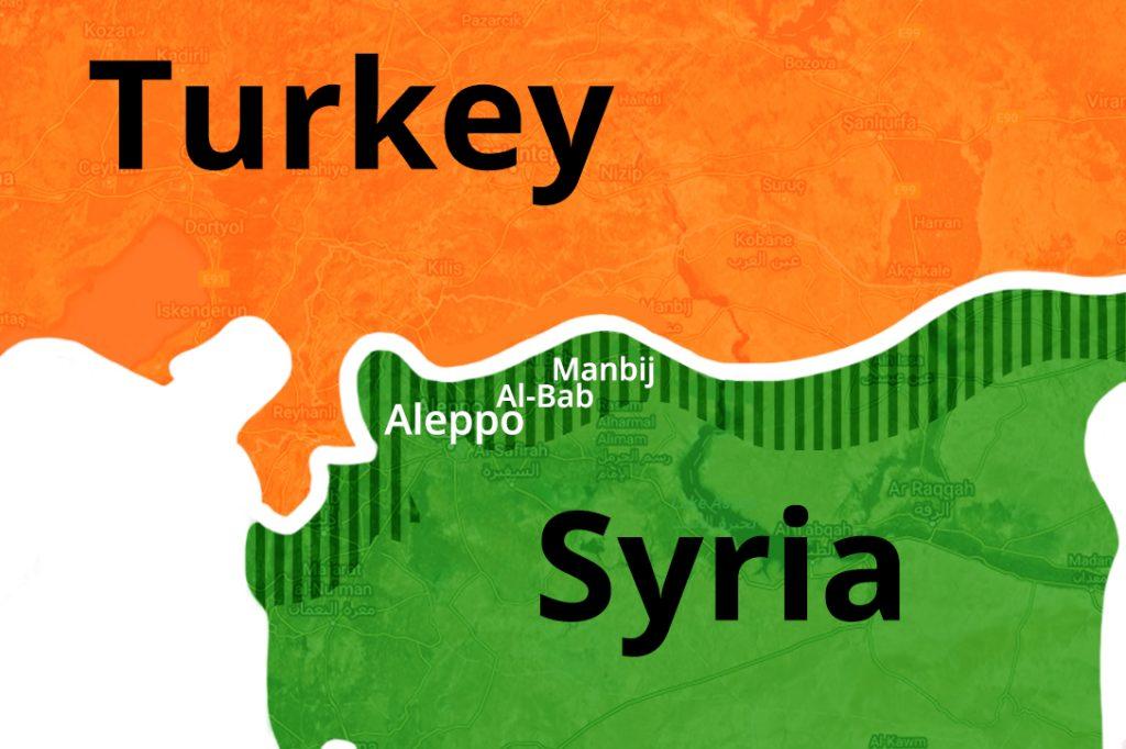 Turkey Syria Map