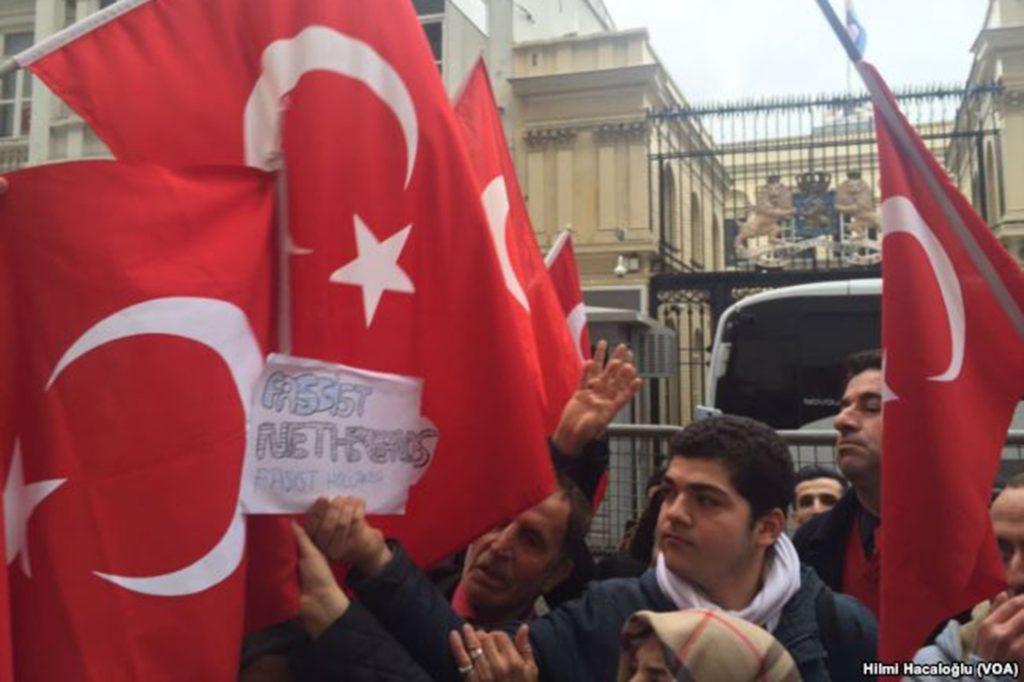 Dutch, Turkey, Referendum, Protest