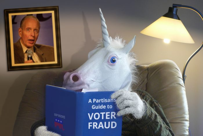 voter fraud, unicorn