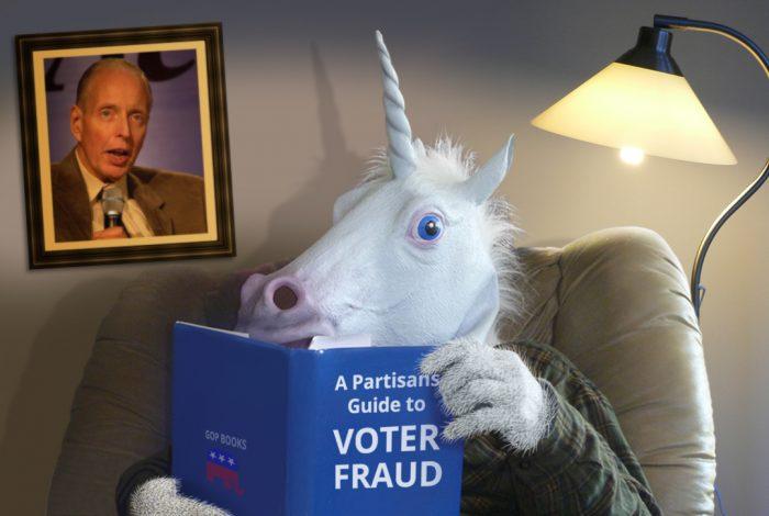 voter fraud, unicorn