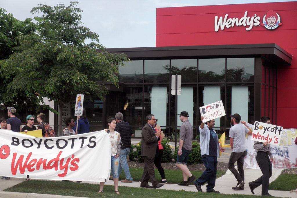 Boycott, Wendy's