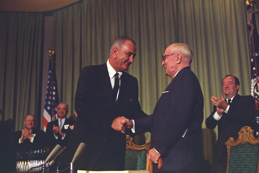 LBJ, Lyndon Johnson, Harry Truman, Great Society