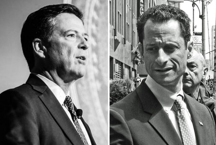 James Comey, Anthony Weiner