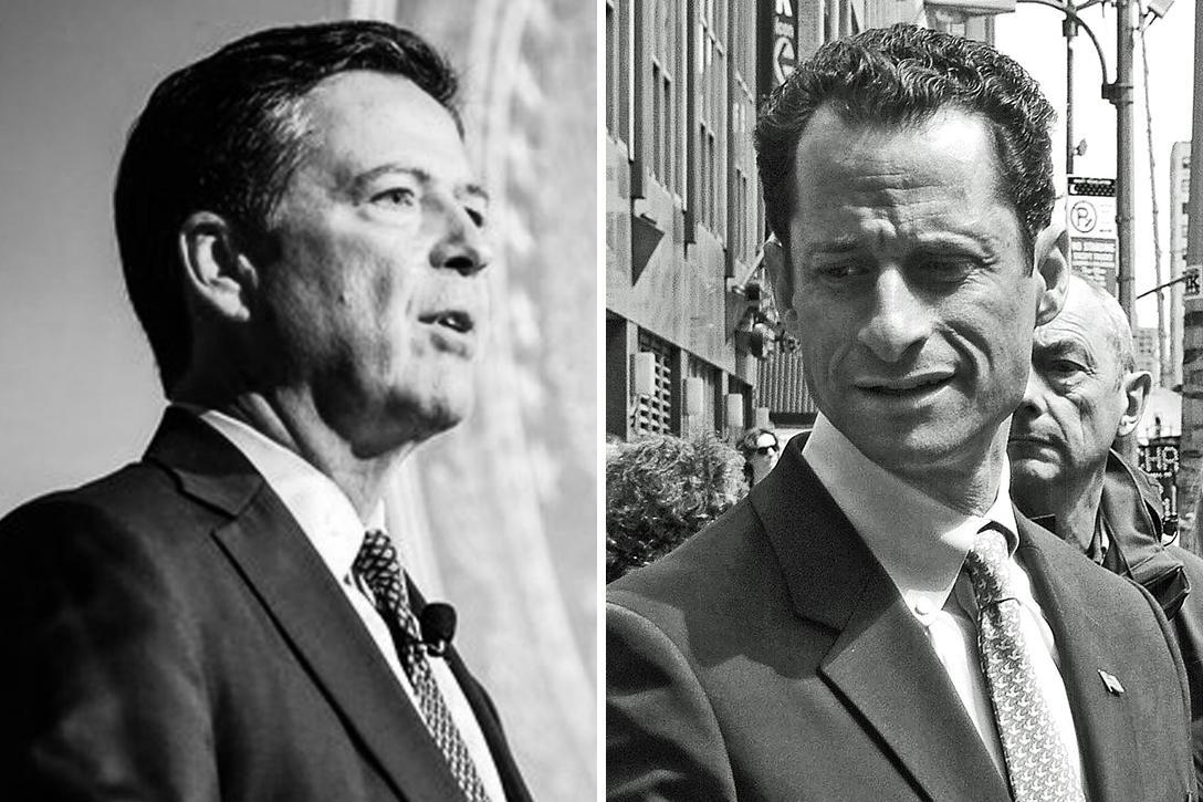 James Comey, Anthony Weiner