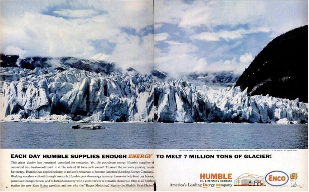 Humble Oil, ad