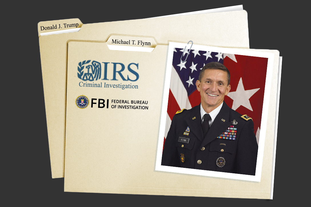 Michael Flynn, IRS CI, FBI