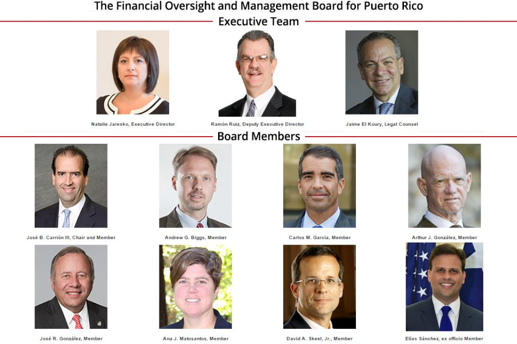 Financial Oversight and Management Board