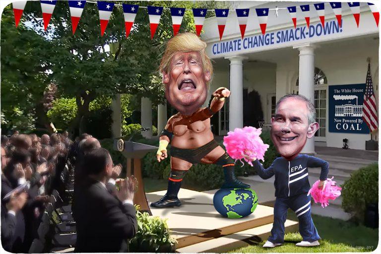 Donald Trump, Scott Pruitt, Climate Change, Paris