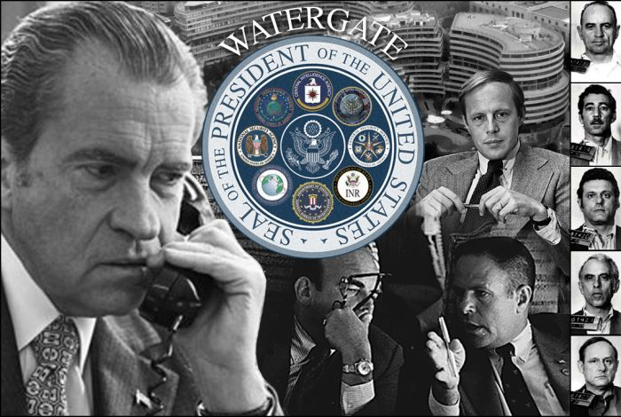 Watergate, Richard Nixon, John Dean, HR Haldeman, John Ehrlichman, Plumbers