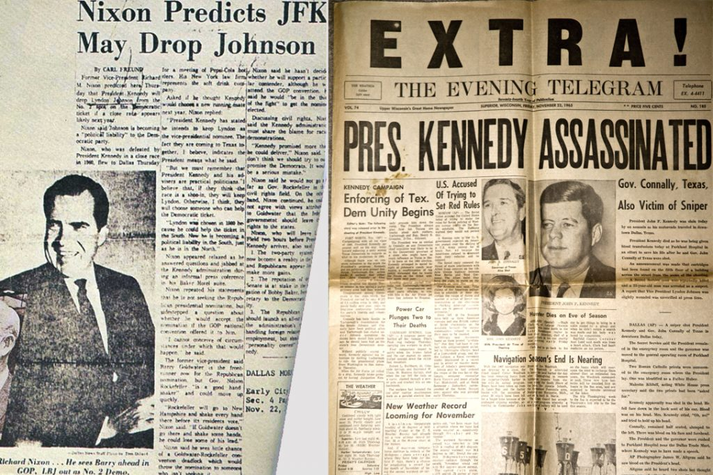 Richard Nixon, JFK, Assassination