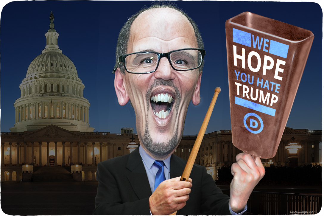 Tom Perez, more cowbell