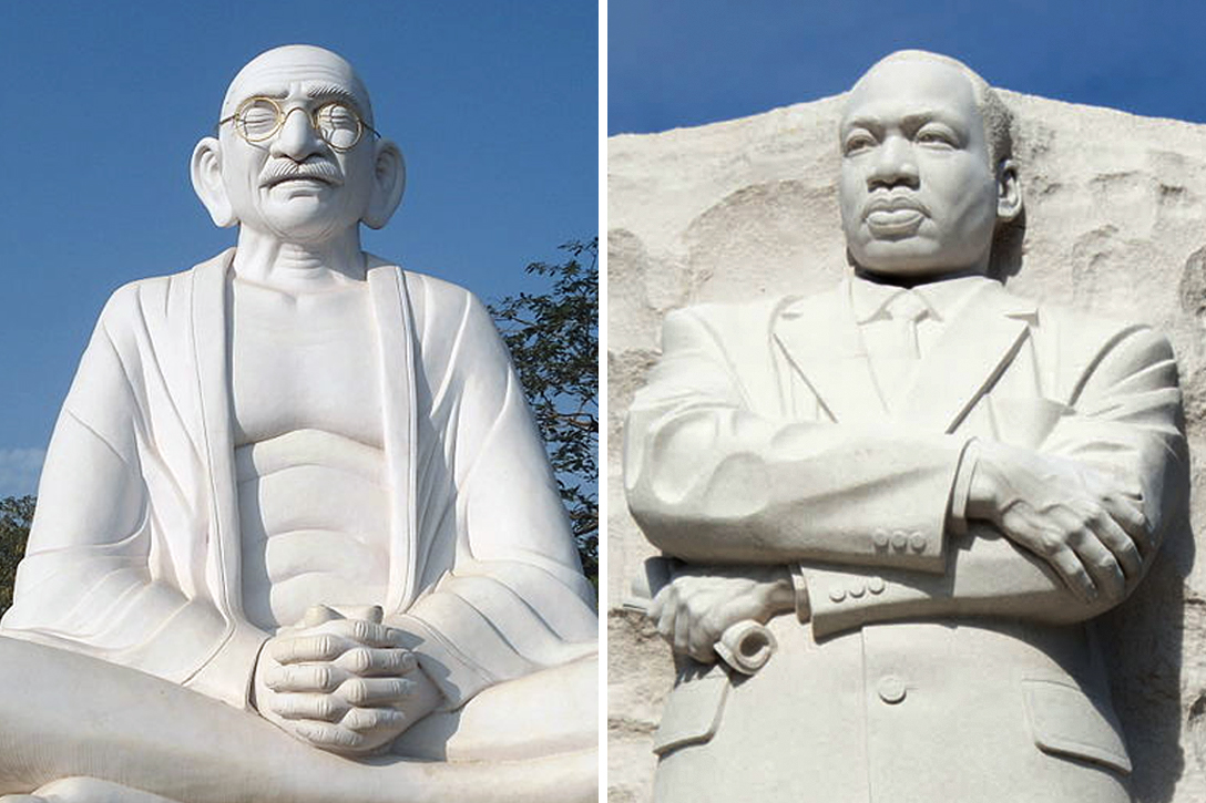 Mahatma Gandhi, Martin Luther King