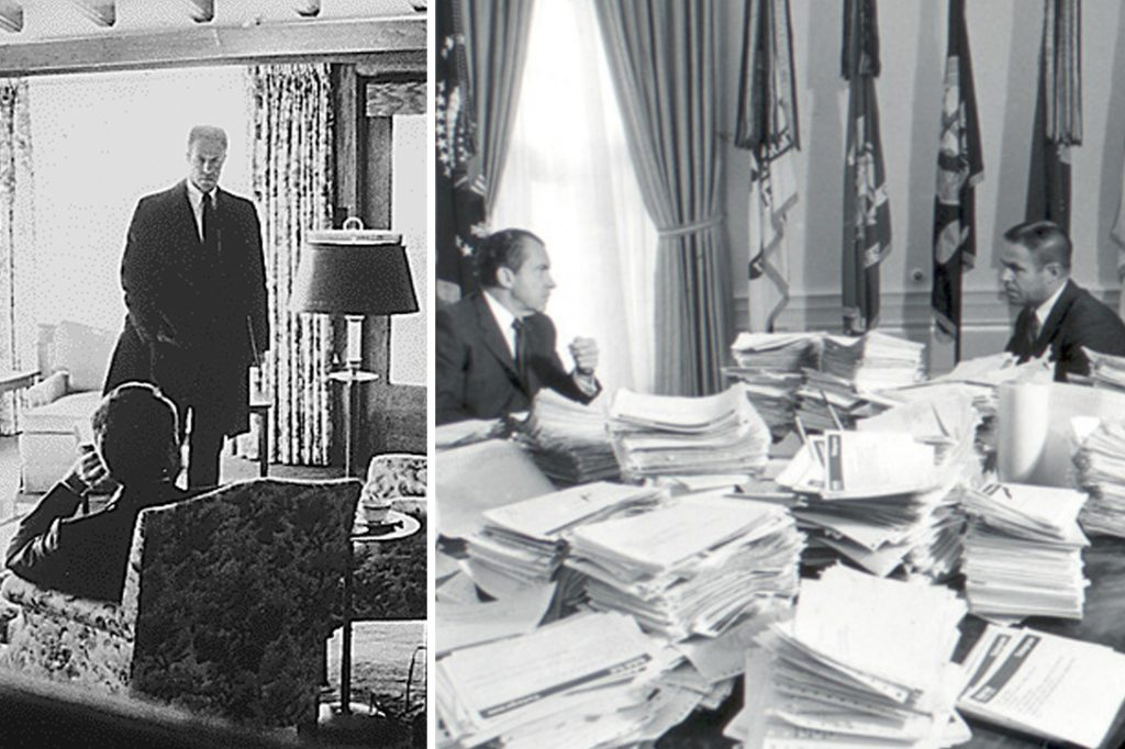 HR Haldeman, Richard Nixon