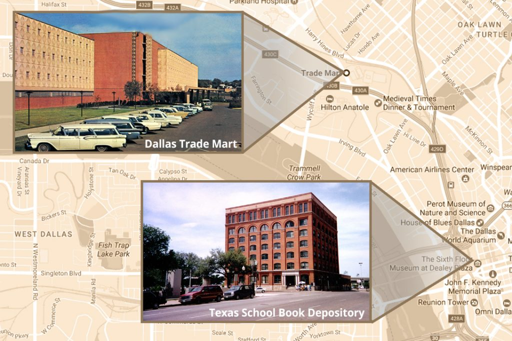 Dallas Trade Mart, Texas School Book Depository