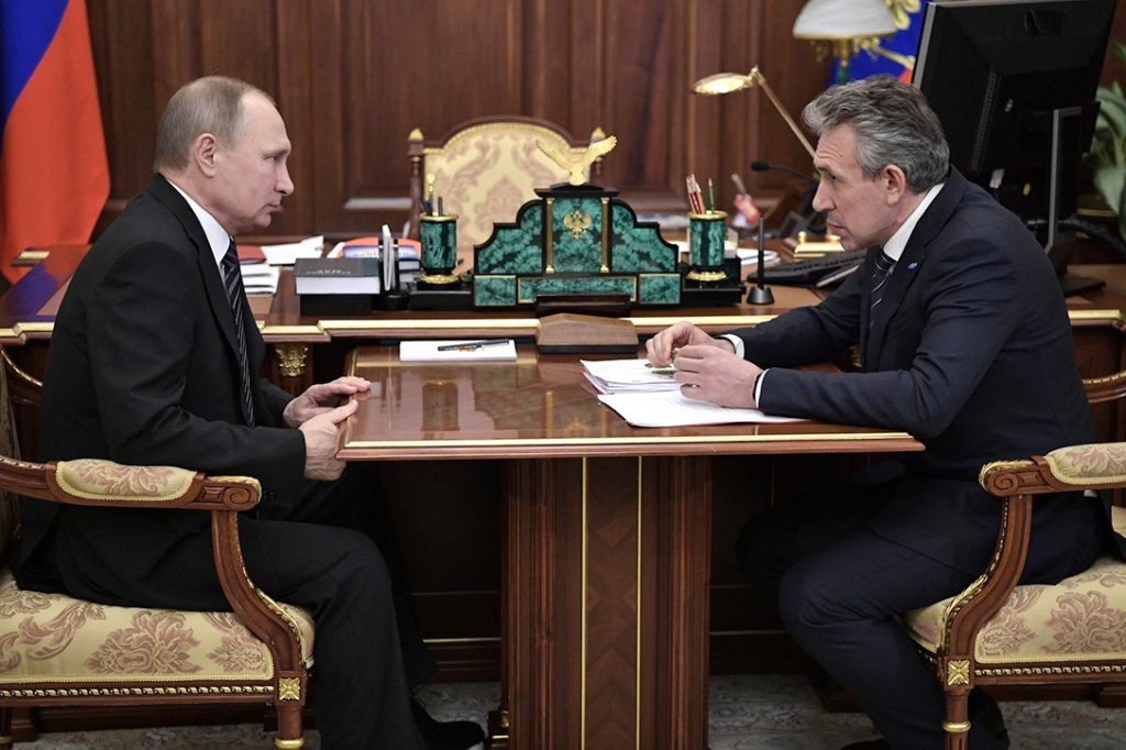 Vladimir Putin, Sergei Gorkov