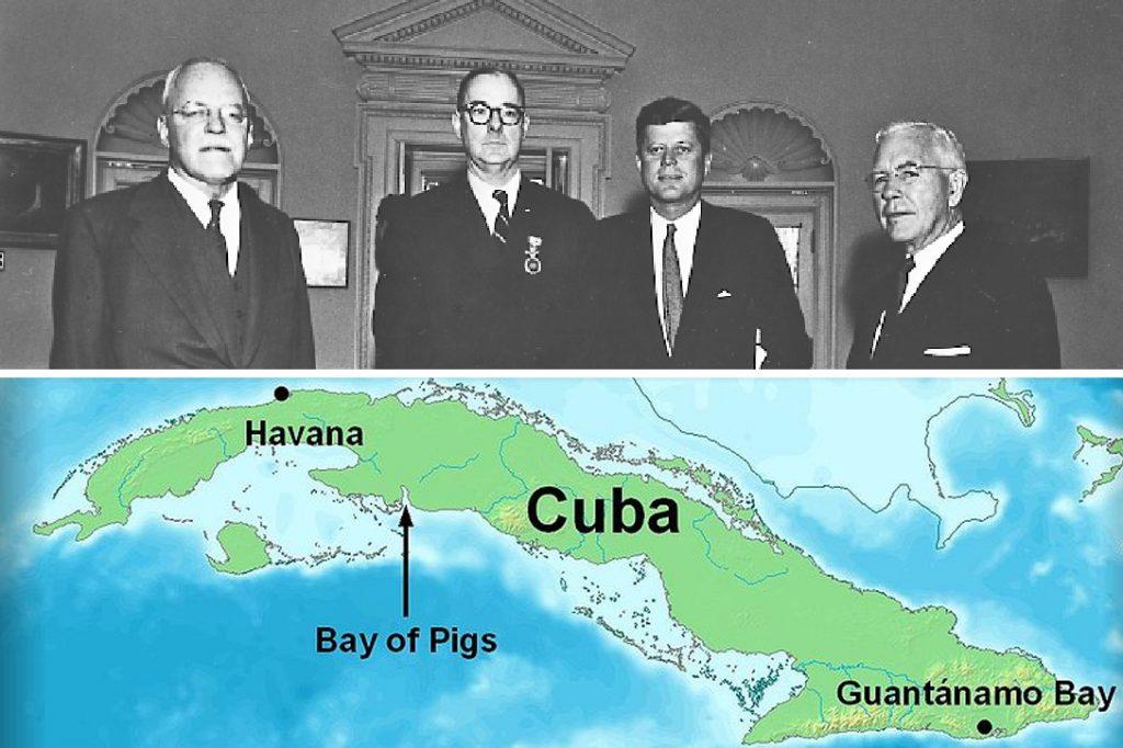 Allen Dulles, Richard Bissell, President Kennedy, John McCone, Cuba