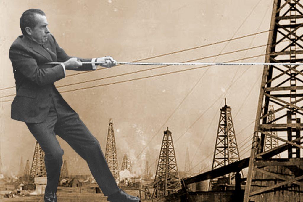 Richard Nixon, oil fields