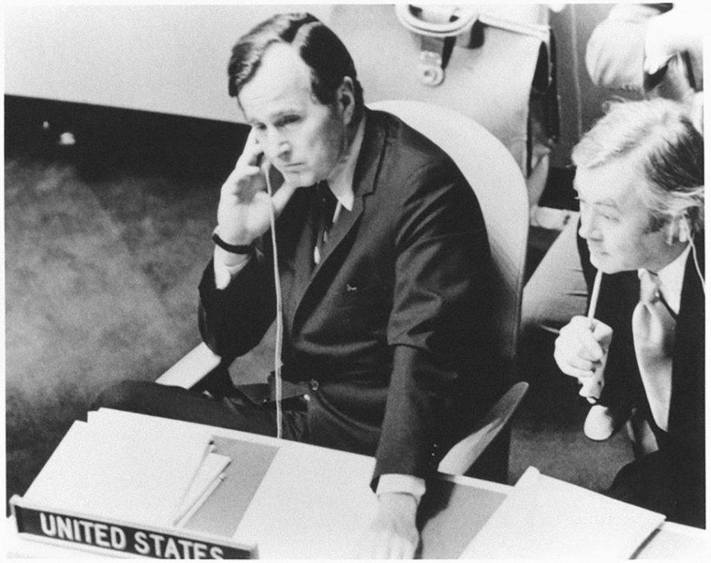 Ambassador George H W Bush