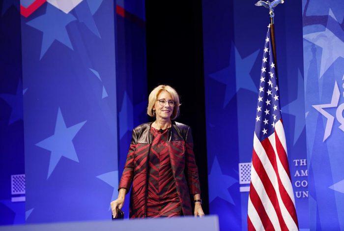 Secretary of Education, Betsy DeVos