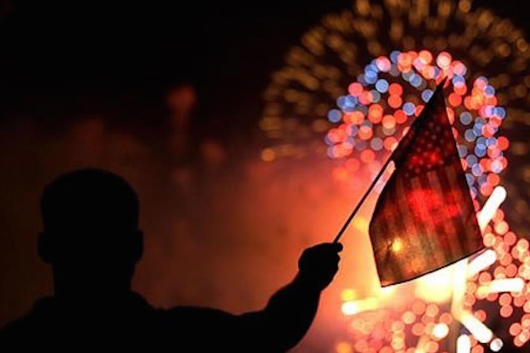 Fireworks, White House