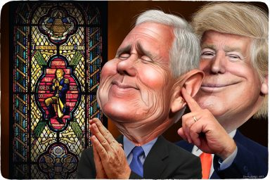 Mike Pence, Donald Trump, religion