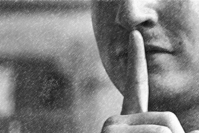 hush, secret