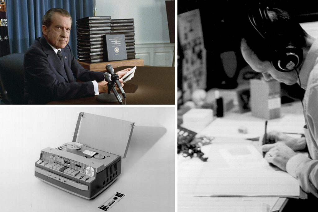 Richard Nixon, Tapes