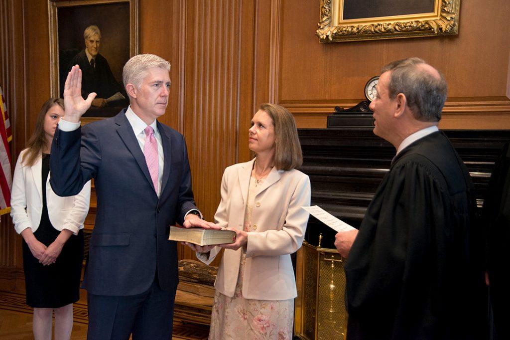 Neil Gorsuch, Supreme Court, John Roberts