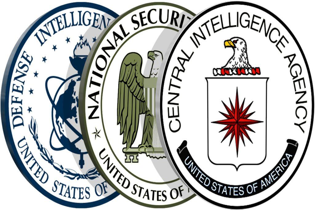 CIA, DIA, NSA