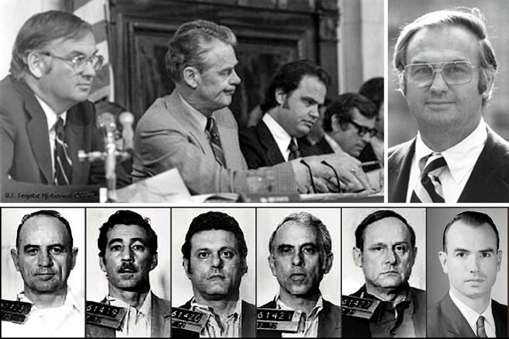 Senate Watergate Committee, Watergate Burglars