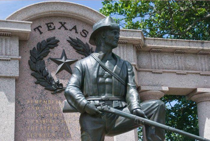 Confederate, monument