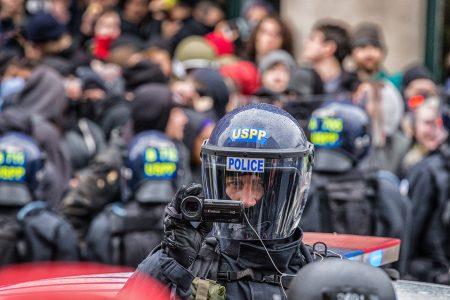 inauguration, police, Donald Trump